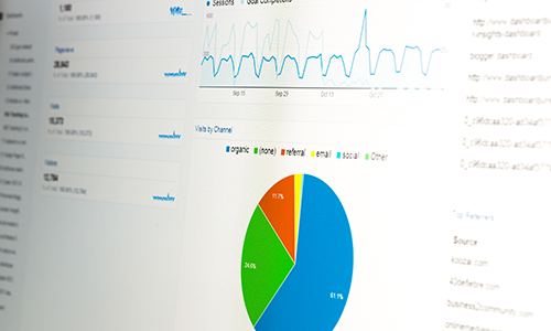Website Analytics Screen