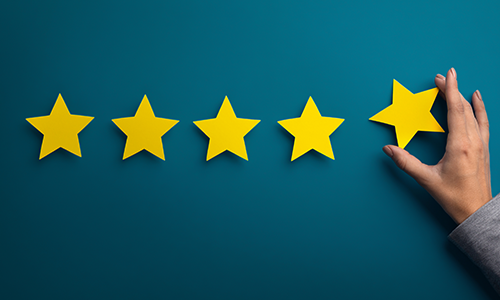 5 Star Reviews from your Past Clients